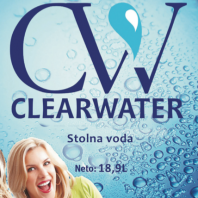 CLEARWATER - stolna voda 18,9L